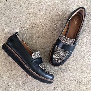 🆕 Listing!  Clarks   Calf Hair Loafers